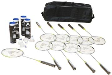 Badmintonbag startsett 10 stk