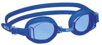 Svømmebriller  Blå/hvit - silikon