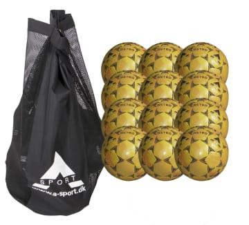 Gatefotball pakke 12 stk.  Gatefotball str. 4,5