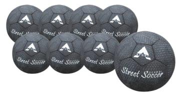 Street fotball gummi, 8 stk