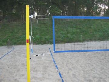 Beach volley nettstolper Ø83  2 Stk.
