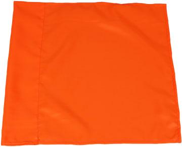 Hjørneflagg Ø50, Oransje  45x45 cm