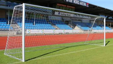 Fotballmål 11'er stk.  alu profil 120x100 mm