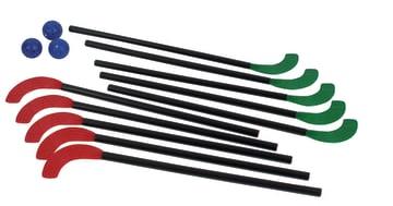 Hockeykølle bhg 10 stk.  70 cm. inkl. blad