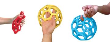Rubberflex ball Ø10cm.  1 stk