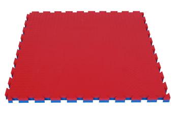 Soft gulv grønn/gul  100x100x2cm