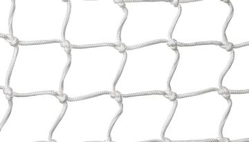 Håndballnett hallmodell 6 cm  H200 x B300 x D65/95 cm.