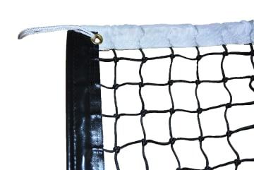 Minitennisnett - 2 mm  L 610  x H 85 cm. - svart