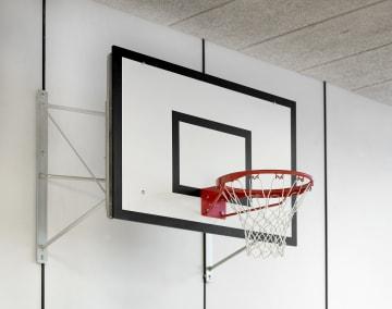 Basketballstativ 60cm  Til montering på vegg