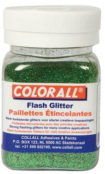 Glitter ''fint'' 150ml. grønn