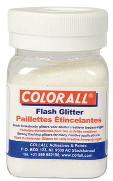 Glitter ''fint'' 150ml. hvit