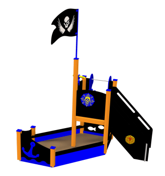 Piratskipet Kaptein Alex, vedlikeholdsfritt