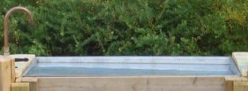 Vannlek til sandlekbordene