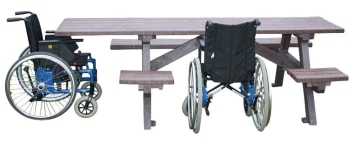 Tilgjengelighetsbordet  2+6, vedlikeholdsfritt