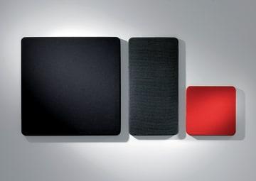Akustikkplater til vegg. Tekstil 400x400x50mm. Fiji/Cara
