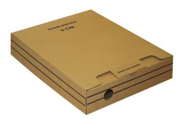 Arkivboks 8cm. hvit
