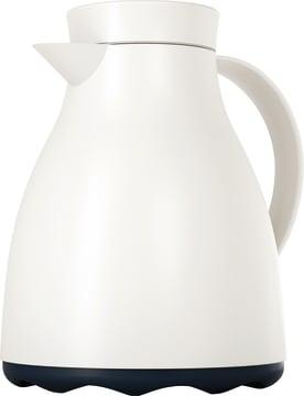 Termokanne, 1 liter, hvit
