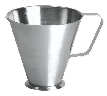 Litermål i rustfritt stål, 1 liter
