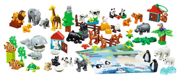 Lego Duplo Dyr, 90 deler