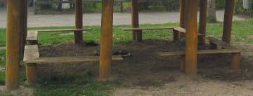 Hjørnebenk