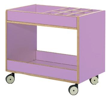Tavoli Formingsvogn med små rom