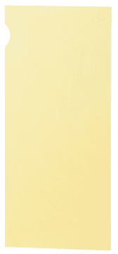 Dører til stor Feria reol med 3 hyller, gul