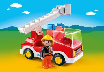 Playmobil brannbil for de minste
