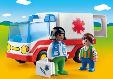 Playmobil ambulanse for de minste
