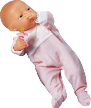 Pyjamas, rosa til dukke 45 cm