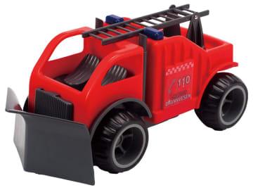 Ludius brannbil med plog