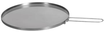 Stekehelle i rustfritt stål, 45 cm