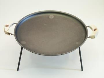 Stekehelle med håndtak ø:47 cm