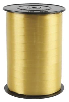 Gavebånd, B: 10mm, 250 m, gull
