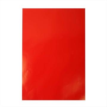 Glanspapir, ark 32x48cm, 80 g, 25 ark, rød