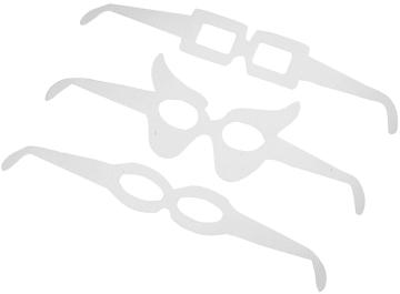 Briller, L:32cm, H:5-7cm, 160 ass.
