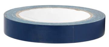 Lerretstape,19mm x  25 m, blå