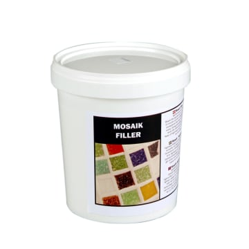 Mosaikkfiller, 1000 ml, hvit