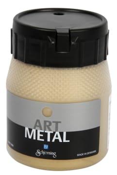 Art Metall maling, 250 ml, lys gull