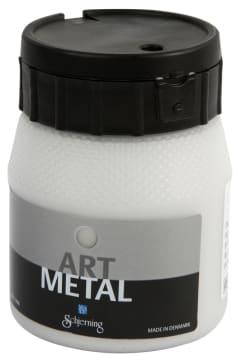 Art Metall maling, 250 ml, sølv