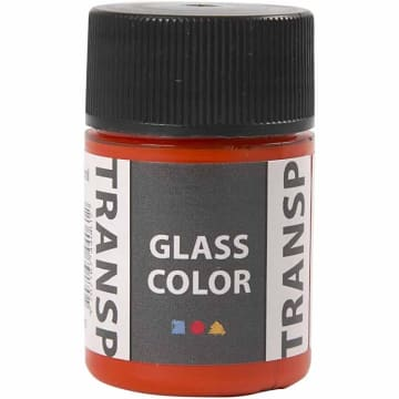 Glass Color Transparent, 35 ml, orange