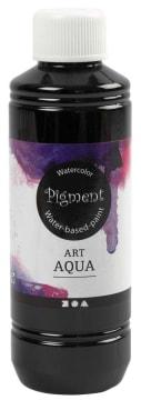 Art Aqua Pigment, 250 ml, sort