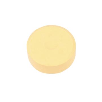 Vannfarge, D:44mm, H:16mm, 6stk, beige