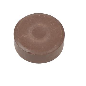 Vannfarge, D:44mm, H:16mm, 6stk, brun