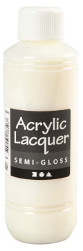 Akryllakk, Semi-gloss, 250 ml