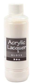 Akryllakk, Gloss, 250 ml