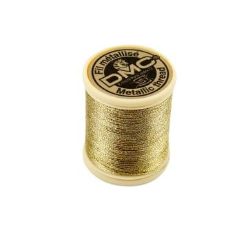 DMC tråd, 40 m, gull
