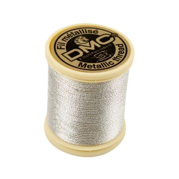 DMC tråd, 40 m, sølv