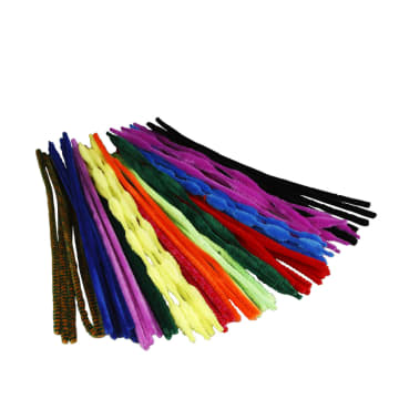 Piperenser, 5-12mm, L:30cm, 500 ass. farger