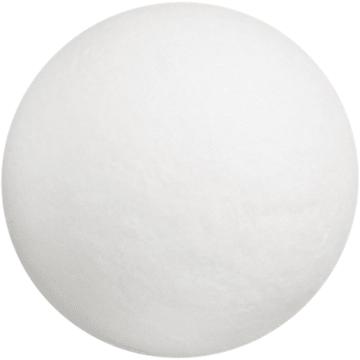 Vattkuler, D:35mm, 100stk, hvit