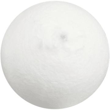 Vattkuler, D:40mm, 100stk, hvit